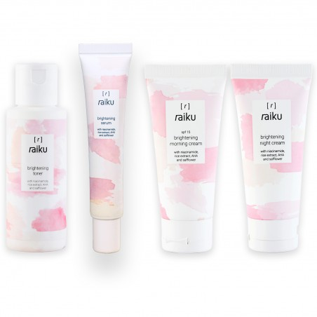 Raiku Paket Brightening Series